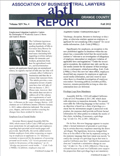 Association of Business Trail Lawyers abtl Report